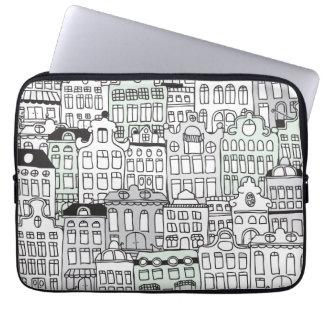 I love amsterdam dutch icon laptop sleeve