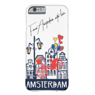 I love Amsterdam Iphone Case