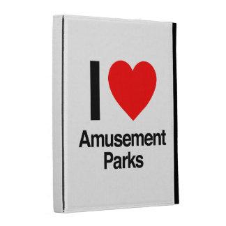 i love amusement parks iPad cases