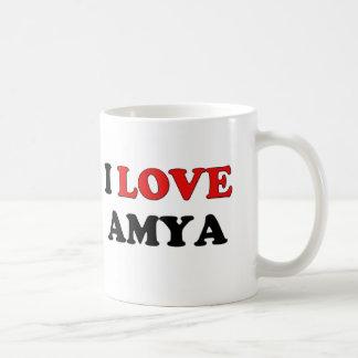 I Love Amya Coffee Mug