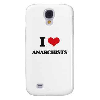 I Love Anarchists Samsung Galaxy S4 Cover