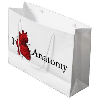 I Love Anatomy Large Gift Bag