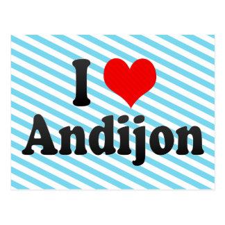 I Love Andijon, Uzbekistan Postcard