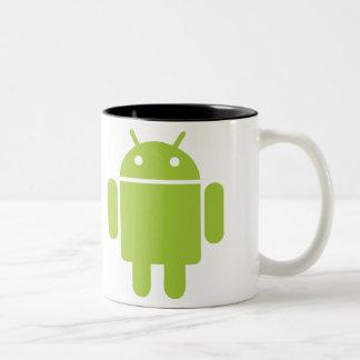 I Love Android Two-Tone Coffee Mug