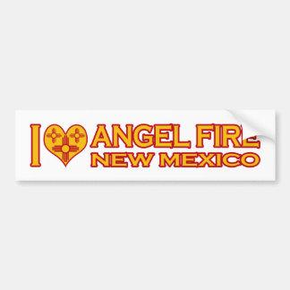 I Love Angel Fire, NM Bumper Sticker