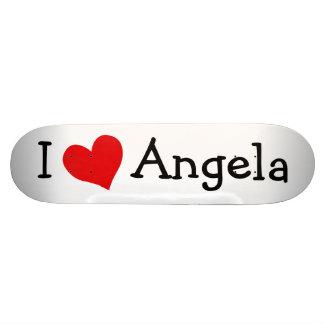 I Love Angela Skateboard