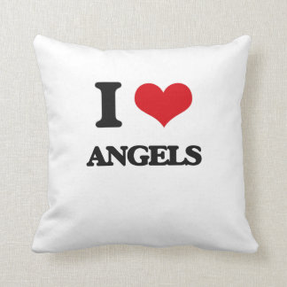 I Love Angels Pillows