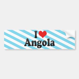 I Love Angola Bumper Sticker