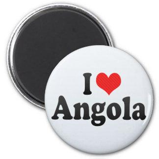 I Love Angola Fridge Magnet