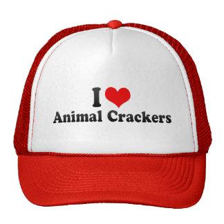 I Love Animal Crackers Mesh Hats