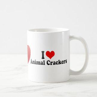 I Love Animal Crackers Coffee Mugs