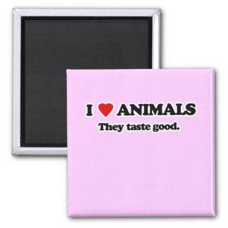 I Love animals Fridge Magnets