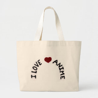 I Love Anime Book Bag