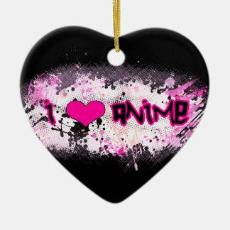 I Love Anime Ornament