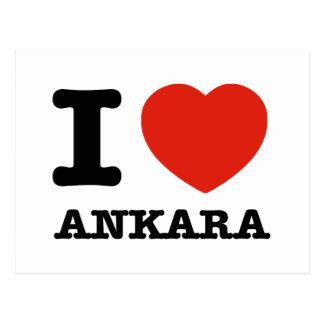 I Love Ankara Post Card