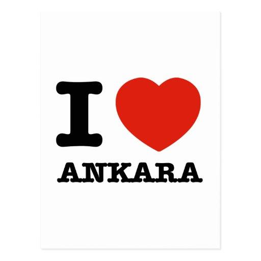I Love Ankara Postcards