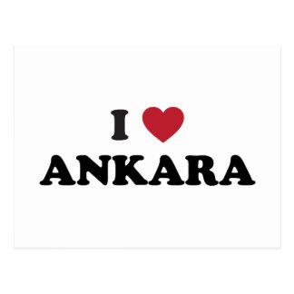 I Love Ankara Turkey Postcards