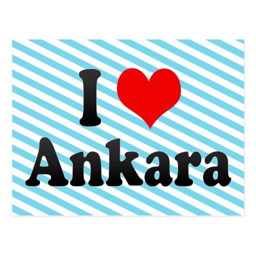 I Love Ankara, Turkey. Seviyorum Ankara, Turkey Postcards