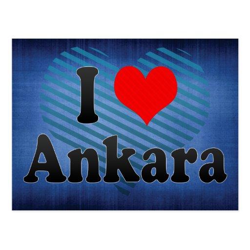 I Love Ankara, Turkey. Seviyorum Ankara, Turkey Post Card