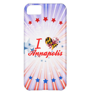 I Love Annapolis, Maryland iPhone 5C Covers