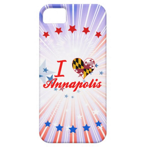 I Love Annapolis, Maryland iPhone 5/5S Cases