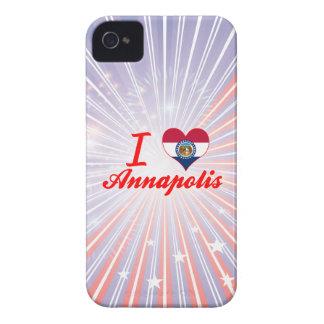 I Love Annapolis Missouri iPhone 4 Cases