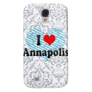 I Love Annapolis United States Samsung Galaxy S4 Cases
