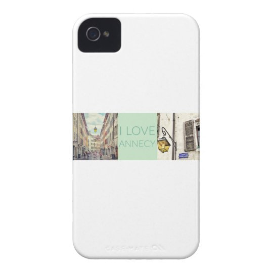 """""""I Love Annecy"""" iPhone 4 Case Barely There"""
