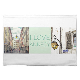"""I Love Annecy"" Placemat"