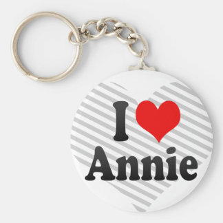 I love Annie Key Ring