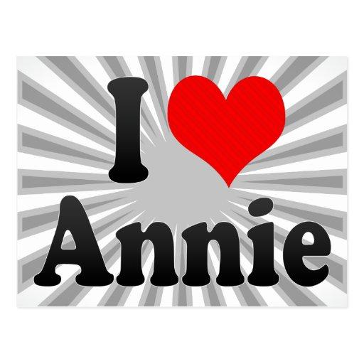 I love Annie Postcards