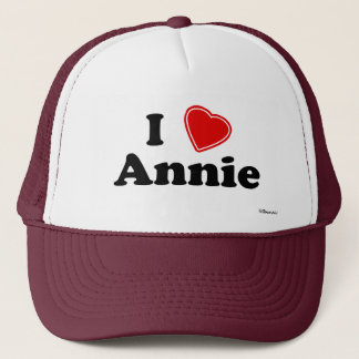 I Love Annie Trucker Hat