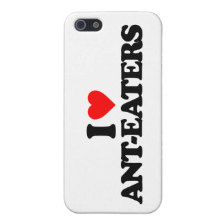 I LOVE ANT-EATERS CASE FOR iPhone 5