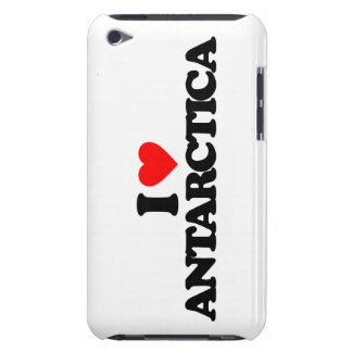 I LOVE ANTARCTICA BARELY THERE iPod COVERS