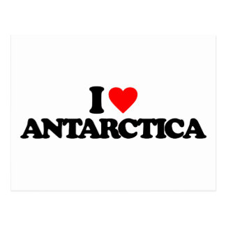 I LOVE ANTARCTICA POSTCARD