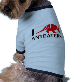 I Love Anteaters Pet Clothes