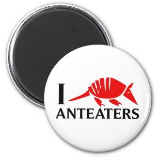 I Love Anteaters Magnet