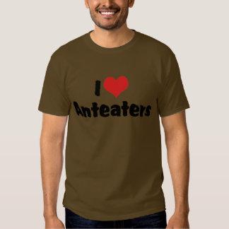 I Love Anteaters Shirts