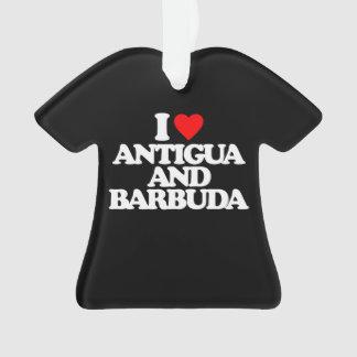 I LOVE ANTIGUA AND BARBUDA