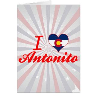 I Love Antonito, Colorado Card
