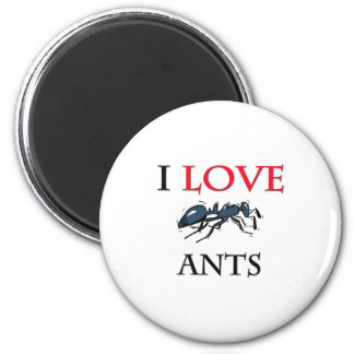I Love Ants Magnet