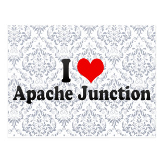I Love Apache Junction United States Post Card