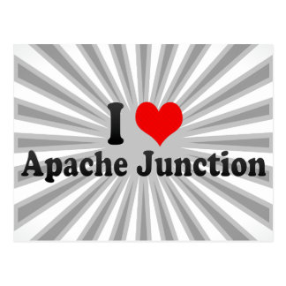I Love Apache Junction, United States Postcard