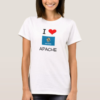 I Love Apache Oklahoma T-Shirt