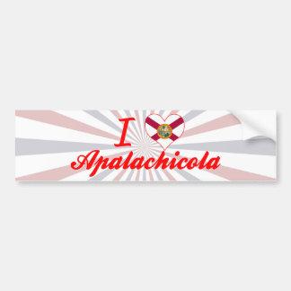 I Love Apalachicola, Florida Bumper Stickers