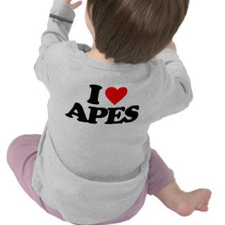 I LOVE APES SHIRTS
