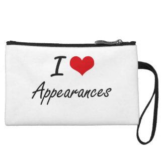 I Love Appearances Artistic Design Wristlet Purses