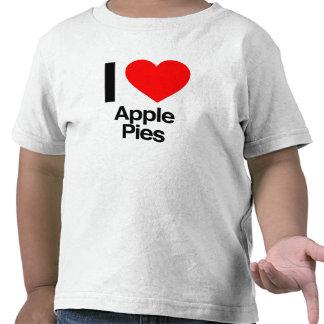 i love apple pies t-shirts