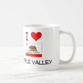 I Love APPLE VALLEY California Basic White Mug