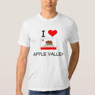 I Love APPLE VALLEY California Shirts